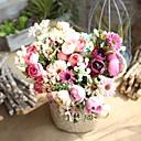 tanie Sztuczne kwiaty-Sztuczne Kwiaty 1 Gałąź Kwiaty ślubne / Styl pasterski Róże Bukiety na stół