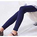 זול מכנסיים וטייץ לבנות-מכנסיים פוליאסטר אביב שרוול ארוך יומי אחיד בנות פשוט ורוד מסמיק כחול נייבי סגול צהוב פוקסיה