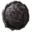 cheap Toupees-PANSY 8x10inch Men's Toupee Hair Replacement Human Hair System Hairpiece Swiss Lace base Toupee