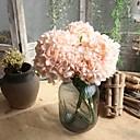 cheap Artificial Flower-Artificial Flowers 5 Branch Simple Style / Wedding Flowers Hydrangeas Tabletop Flower