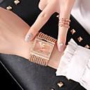 hesapli Kadın Saatleri-Kadın's Moda Saat / Elbise Saat Çince Gündelik Saatler Alaşım Bant Moda Gümüş / Altın Rengi / Gül Altın
