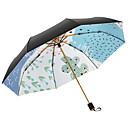 cheap Umbrella/Sun Umbrella-Fabric Women's Sunny and Rainy / Wind Proof Folding Umbrella