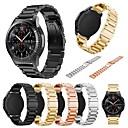 baratos Smartwatch Acessórios-Pulseiras de Relógio para Gear S3 Classic Samsung Galaxy Pulseira Esportiva Metal Tira de Pulso