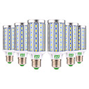 ieftine Car Exterior Lights-YWXLIGHT® 6pcs 25 W 1400 lm E26 / E27 Becuri LED Corn T 72 LED-uri de margele SMD 5730 Decorativ Alb Cald / Alb Rece 85-265 V