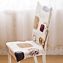 זול כיסויים-סגנון אומנותי סגנון מודרני 100% פוליאסטר ג'אקארד כיסוי לכיסא, פשוט דפוס הדפס כיסויים