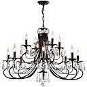 tanie Żyrandole-LightMyself™ Żyrandol / Lampy widzące Światło rozproszone Malowane wykończenia Metal Kryształ 110-120V / 220-240V Nie zawiera żarówek / E12 / E14