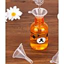 cheap Coffee and Tea-Kitchen Tools Plastics Mini Funnel Everyday Use 10pcs