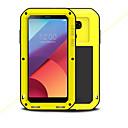 זול מגנים לטלפון & מגני מסך-מגן עבור LG G6 עמיד בזעזועים עמיד במים כיסוי מלא צבע אחיד קשיח מתכת ל LG G6