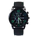 preiswerte Kleideruhr-Herrn Modeuhr Japanisch Quartz 30 m Armbanduhren für den Alltag Silikon Band Analog Charme Schwarz - Rot Grün Blau Ein Jahr Batterielebensdauer
