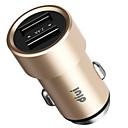 זול מטען כבלים ומתאמים-מטען לרכב מטען USB USB QC 2.0 / הטענה מהירה 1חיבורUSB 2.1 A DC 12V-24V ל