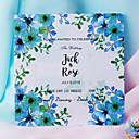 tanie Zaproszenia ślubne-Pojedyncza Kartka Zaproszenia ślubne 50-opakowanie / 20-opakowanie - Zestawy zaproszeń Styl artystyczny Perłowy papier