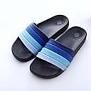 tanie Męskie klapki i japonki-Męskie Komfortowe buty Syntetyczny Lato Klapki i japonki Ciemnoniebieski / Kawowy