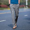 זול תאורה מודרנית-בגדי ריקוד גברים כותנה / פשתן הארם מכנסיים אחיד
