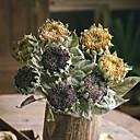 abordables Decoraciones y Diamantes Sintéticos para Manicura-Flores Artificiales 1 Rama Rústico / Vintage Girasoles Flor de Suelo