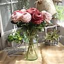זול פרחים מלאכותיים-פרחים מלאכותיים 1 ענף חתונה / ארופאי ורדים פרחים לשולחן