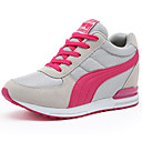 cheap Women's Athletic Shoes-Women's Shoes Tulle Summer / Fall Comfort Sneakers Wedge Heel Black / Blue / Pink