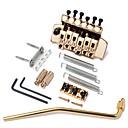 tanie Akcesoria do instrumentów muzycznych-Profesjonalny Mostek Gitara Gitara elektryczna Tworzywo Metal Instrument muzyczny Akcesoria 9.4*6.3*7.5cm