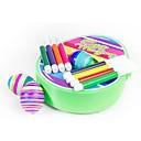 رخيصةأون قوارب حوض السباحة المنفوخة-لعبة الرسم عطلة لوحات بسيط قذيفة البلاستيك هدية 8pcs