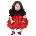 זול בובות-NPK DOLL בובה מחדש תינוקות בנות 24inch סיליקון / ויניל - יָלוּד, כְּמוֹ בַּחַיִים, Cute יוניסקס הילד של מתנות