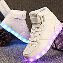 abordables Ropa de Baile para Niños-Chico / Chica Zapatos Semicuero Primavera Confort / Zapatos con luz Zapatillas de deporte Paseo Con Cordón / Cierre Autoadherente / LED