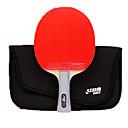 זול שולחן טניס-DHS® R6002 R6003 FL Ping Pang/מחבטי טניס שולחן עץ גוּמִי 6 כוכבים ידית ארוכה פצעונים