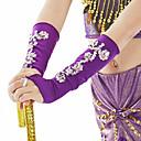 preiswerte Handschuhe für die Party-Bauchtanz Ordinär Tanz-Handschuhe Damen Training Leistung Polyester Pailetten Modern Freizeit Ärmel