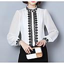 halpa Luxury pussilakanat-Naisten Puuvilla / Polyesteri Yhtenäinen Paita