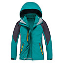 cheap Softshell, Fleece & Hiking Jackets-Women's Ski Jacket outdoor Spring Fall Winter Windproof Waterproof Breathable Thermal / Warm Quick Dry Ultraviolet Resistant Anti-Eradiation Softshell Jacket Top Full Length Visible Zipper Skiing