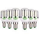 זול כרית-YWXLIGHT® 6pcs 5W 300-500lm E14 נורות תירס לד 48 LED חרוזים SMD 3014 לבן חם לבן קר 12-24V