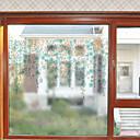 tanie Naklejki ścienne-Folie okienne i naklejki Dekoracja Nowoczesny Kwiaty Polichlorek winylu Naklejka okienna / Matowy / Urząd / Salon