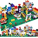 cheap Building Blocks-Building Blocks 1350pcs Classic Theme Stress and Anxiety Relief / Parent-Child Interaction Gift