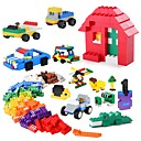 cheap Electronic Learning Toys-Building Blocks 1350 pcs Classic Theme Stress and Anxiety Relief Parent-Child Interaction Boys' Girls' Toy Gift
