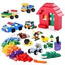 olcso Elektromos játékok-Építőkockák 1350 pcs Klasszikus téma Stressz és szorongás oldására Szülő-gyermek interakció Fiú Lány Játékok Ajándék