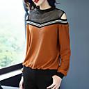 ieftine Rochii-Pentru femei Tricou Vintage Draguț-Bloc Culoare Dantelă