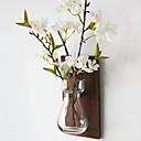 ieftine Obiecte decorative-Flori artificiale 1 ramură Rustic / stil minimalist Vază Flori Perete / Single Vase