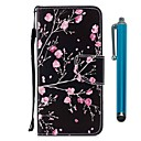 cheap Cell Phone Cases & Screen Protectors-Case For Huawei P9 lite mini Huawei P smart Card Holder Wallet with Stand Flip Magnetic Full Body Cases Flower Hard PU Leather for P10