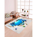 cheap Rugs-Doormats / Bath Mats / Area Rugs Modern Flannelette, Rectangle Superior Quality Rug / Non Skid