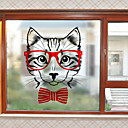 cheap Window Film & Stickers-Window Film & Stickers Decoration Contemporary Character PVC Window Sticker Matte