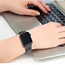 billige Smartklokke Tilbehør-Klokkerem til Apple Watch Series 3 / 2 / 1 Apple Milanesisk rem Rustfritt stål Håndleddsrem