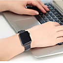 baratos Smartwatch Acessórios-Pulseiras de Relógio para Apple Watch Series 4/3/2/1 Apple Pulseira Estilo Milanês Aço Inoxidável Tira de Pulso