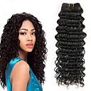 זול תוספות שיער בגוון טבעי-3 חבילות שיער מונגולי גל עמוק 8A שיער אנושי טווה שיער אדם הארכה שיער Bundle 8-28 אִינְטשׁ צבע טבעי שוזרת שיער אנושי נשים extention איכות מעולה תוספות שיער אדם כל