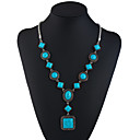 cheap Necklaces-Turquoise Y Necklace - Ethnic, Fashion Turquoise 69.8+5.5 cm Necklace Jewelry For Holiday, Going out