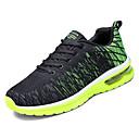 זול נעלי ספורט לגברים-בגדי ריקוד גברים טול אביב / סתיו נוחות נעלי אתלטיקה ריצה קולור בלוק אפור / שחור אדום / שחור / ירוק