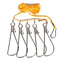 cheap Fishing Tools-Fishing Tools Fishing Accessories Easy to Use Wearproof Braided Rope Stainless PE Jigging Sea Fishing Fly Fishing Bait Casting Ice