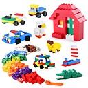 tanie Building Blocks-Klocki 1350 pcs Klasyczny styl Przeciwe stresowi i niepokojom Interakcja rodziców i dzieci Dla chłopców Dla dziewczynek Zabawki Prezent