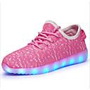 voordelige Originele verlichting-Jongens Schoenen Tule Herfst Oplichtende schoenen Sportschoenen Wandelen LED voor Blauw / Groen / Roze
