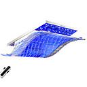 billige Taklamper-OYLYW Takplafond Omgivelseslys Krom Metall Glass Krystall, Flerskjerms, Fargenivåer 110-120V / 220-240V LED lyskilde inkludert / Integrert LED