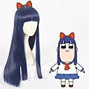 preiswerte Anime Cosplay Perücken-Cosplay Perücken Cosplay Cosplay Blau Anime Cosplay Perücken 35 Zoll Hitzebeständige Faser Alles Halloween-Perücken