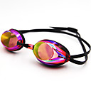 billige Swim Goggles-Svømmebriller Svømming Goggles Anti-Tåke Vanntett Silikon Polykarbonat Rød Blå Mørkeblå Sølv Rød Blå Sølv