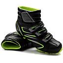 رخيصةأون جواكيت الدراجات النارية-Tiebao® Mountain Bike Shoes ألياف الكربون مكافح الانزلاق ركوب الدراجة أسود / أحمر أسود / أخضر رجالي أحذية الدراجة / شبكة قابلة للتنفس / هوك وحلقة